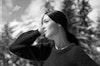 HERMES - VESTIAIRE D'HIVER 2013  Photographer: Zoe Ghertner Model: Maria Carla Boscono  Stylist: Camille Bidault Waddington Location: Wengen - Switzerland