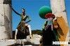 MISSONI - Women's F/W 2014 Photographer: Viviane Sassen Model: Joan Smalls Stylist: Vanessa Reid Location: Ephes - Turkey