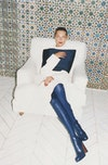 CÉLINE - F/W 2014 Photographer: Juergen teller Model: Daria Werbowy & Natalie Westling Stylist: Phoebe Philo Location: Li Galli - Italy