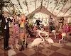 GUCCI - Pre-Fall 2016 Photographer: Glen Luchford Model: Anton Toftgard, Eva Minaeva, Fionnan Byrne-Perkins, Laura Hagested, Lia Pavlova, Lucas Dambros, Nicole Atieno, Polina Oganicheva Stylist: Jane How
