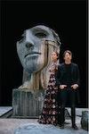INSTYLE - Valentino 2017 Photographer: Fabrizio Ferri Model: Christie Turlington & Pierpaolo Piccioli
