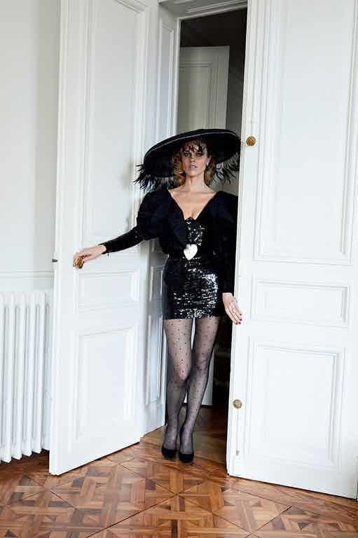 VOGUE PARIS - May 2018 Photographer: Juergen Teller Model: Eva Herzigova Location: Paris, France