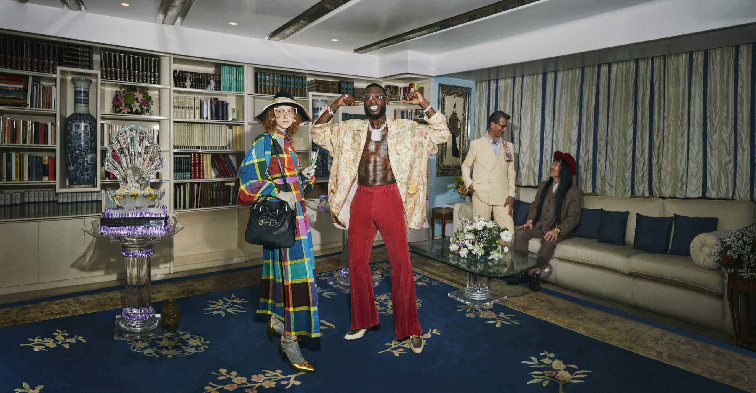GUCCI - Gucci Cruise 2020 Photographer: Harmony Korine Stylist: Alessandro Michele Location: Rome