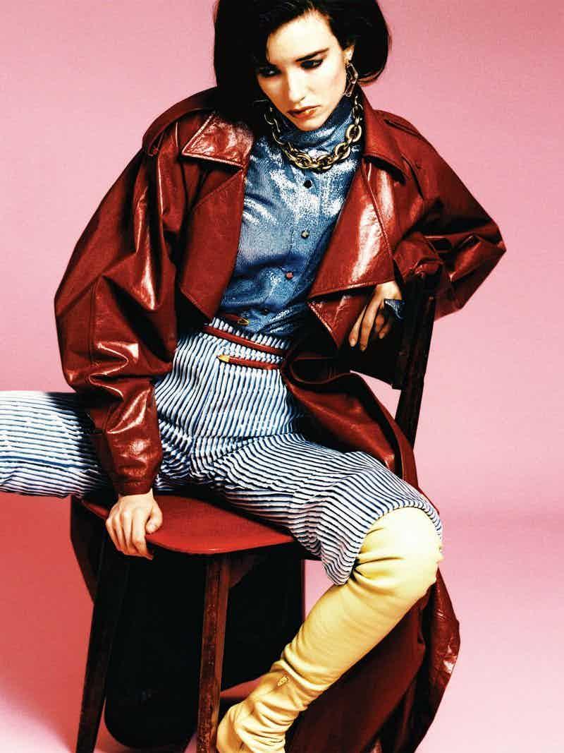THE POP MAGAZINE - Spring Summer 2020 Photographer: Heji Shin Model: Sarah Dahl Stylist: Tamara Rothstein Location: London