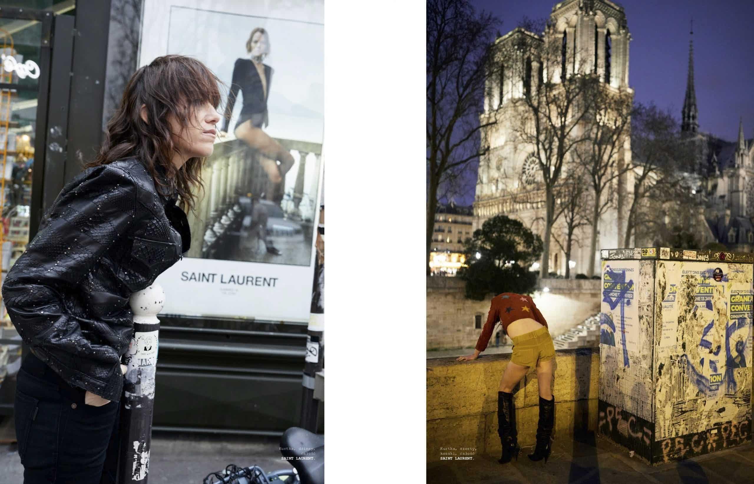 VOGUE POLAND - May 2019 Photographer: Juergen Teller Model: Charlotte Gainsbourg Location: Paris