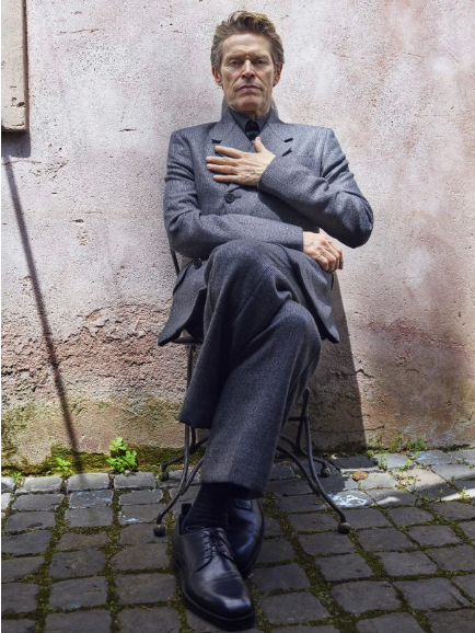 ZEIT MAGAZIN - Winter 2019 Photographer: Simon Emmett Model: Willem Dafoe Location: Rome, italy