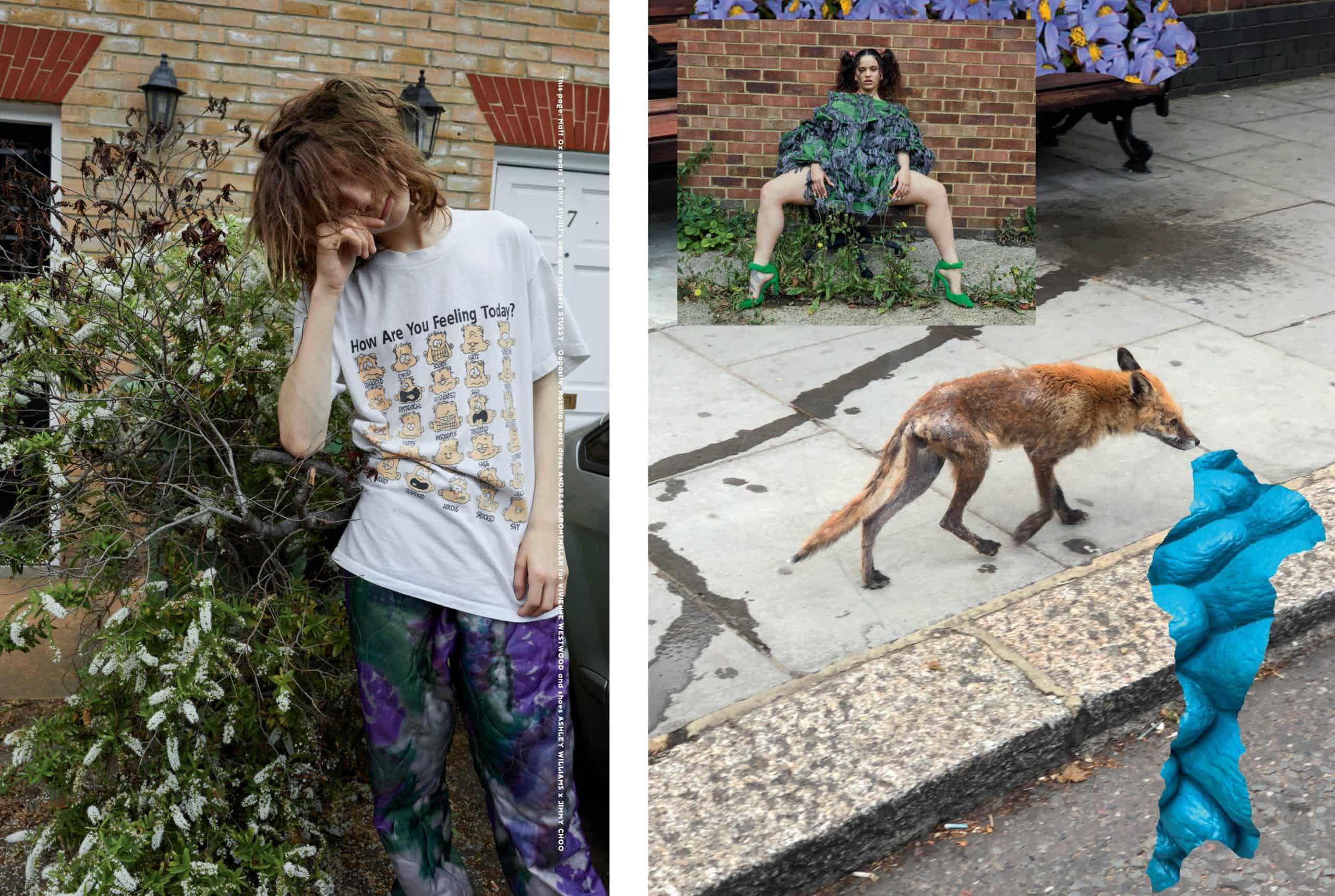 THE FACE - Autumn 2019 Photographer: Juergen Teller Model: Rosalía Location: London