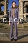GUCCI - Lookbook Pre Fall 2020  Photographer: Bruce Gilden Model: Dwight, Erik, Hao, Lodewick, Massaer, Raheeml, Matisse, Yun Stylist: Jonathan Kaye Location: Rome, Italy