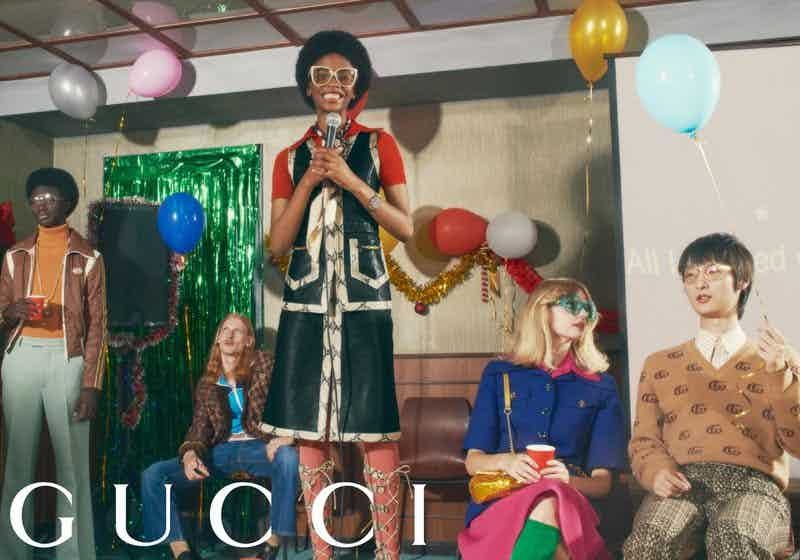 GUCCI - GIFT 2020 Photographer: Mark Peckmezian Location: Rome