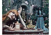 GUCCI - BLOOM 2020 Photographer: Flora Sigismondi Model: Anjelica Huston, Florence Welch Location: Italy, Umbria - La Scarzuola